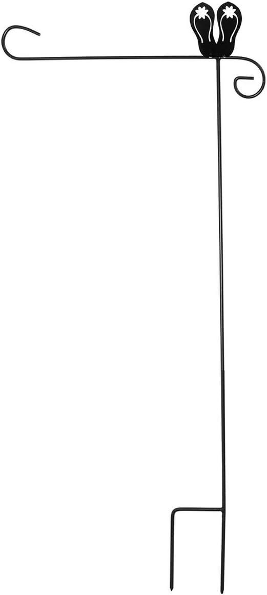 Briarwood Lane Wrought Iron Flip Flops Garden Flag Stand 40