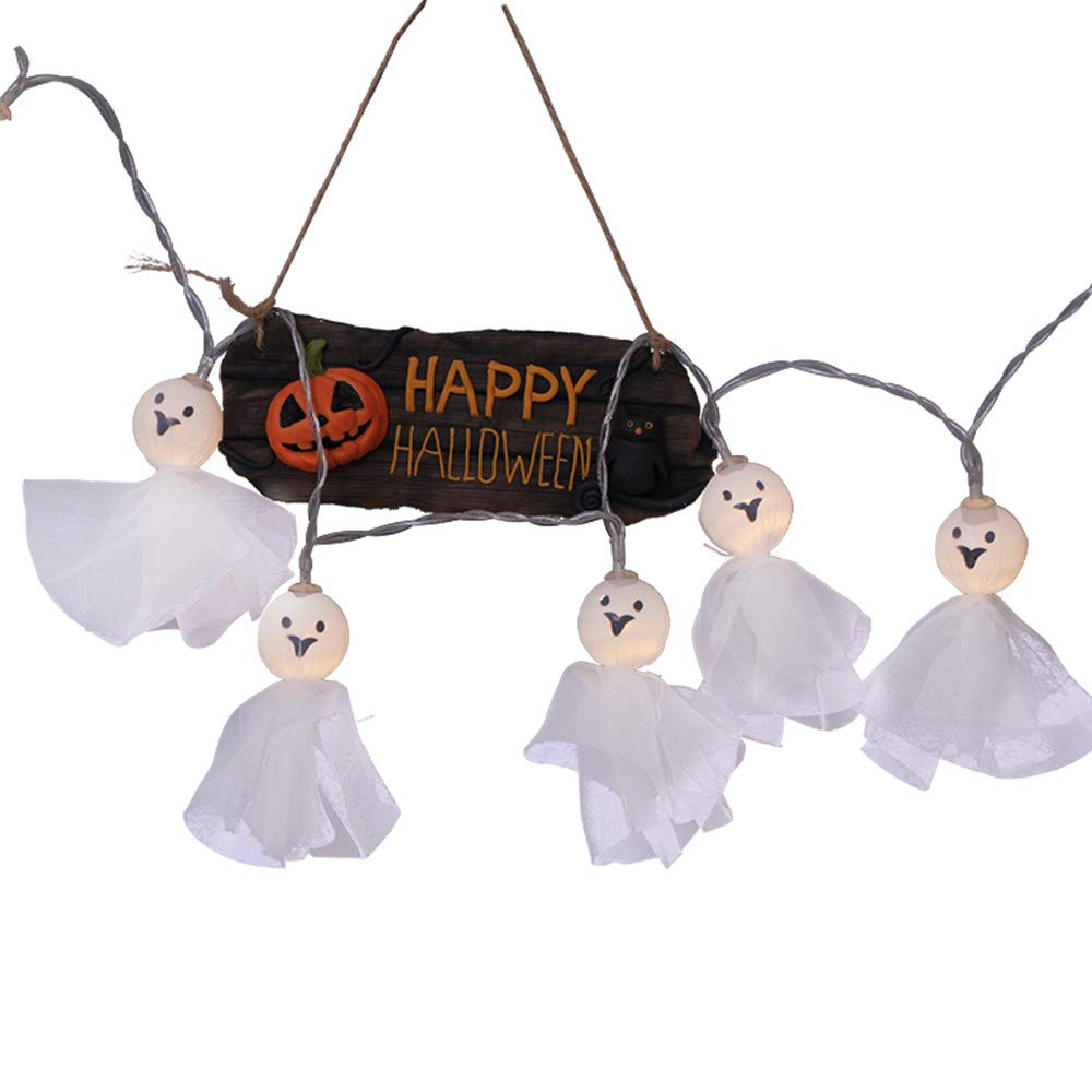 Halloween Decorations The ghost doll Ghost LED String Lights Horror Home Decor