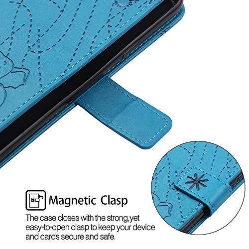 Shell Plus A6 Blu Magnetico Pelle Flip 2018 Galaxy Design Oro Caso Fantasia Silicone Molle Portafoglio Hopmore Pu Cover Case Per Protettiva Con Rosa Morbido Modello Custodia Antiurto Samsung IqRXxwBp