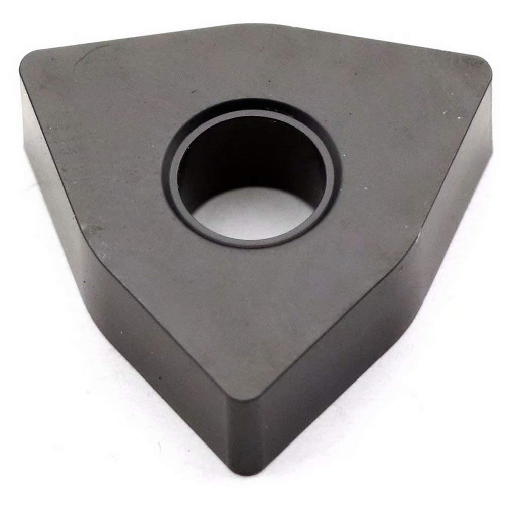 Maifix Lot de 10 inserts en carbure de tungst/ène WNMG ZK en cuivre non ferreux en fonte daluminium Angle n/égatif usinage CNC WNMG080402-HA ZK01