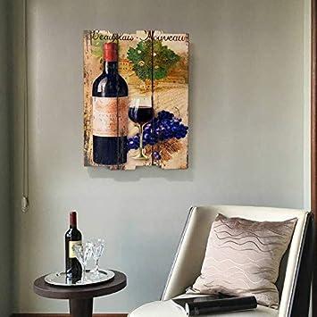 De Guihe Oil Painting Canvas Wall Art Artwork Wall D/écor Kitchen Bar Vintage