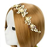 YouBella Fashion Jewellery Floral Stone Hair Chain Clip with Pins accesories for Women and Girls