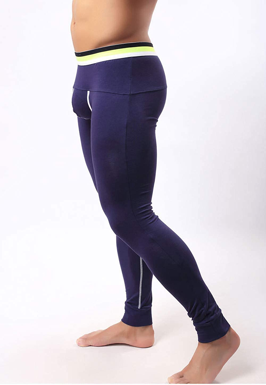 BABYSHAN_ Pants Pantaloni Termici da Uomo Calzamaglia Uomo
