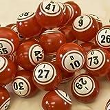 Red Bingo Balls - Pro Series