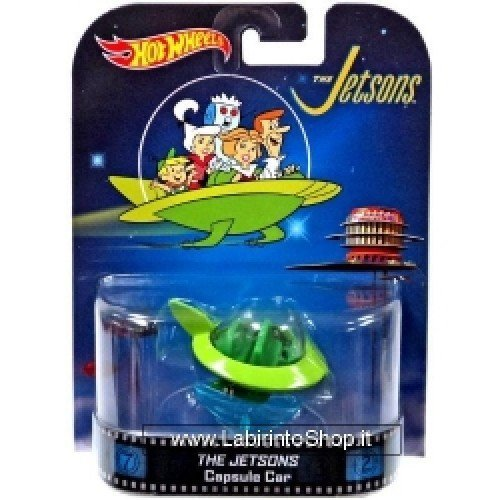 Hot Wheels The Jetsons Capsule Car]()