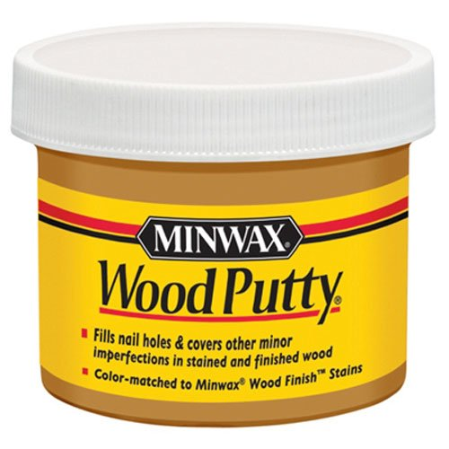 - Minwax 13611000 Wood Putty, 3.75 Ounce, Golden Oak