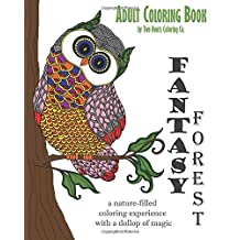 Adult Coloring Book: Fantasy Forest