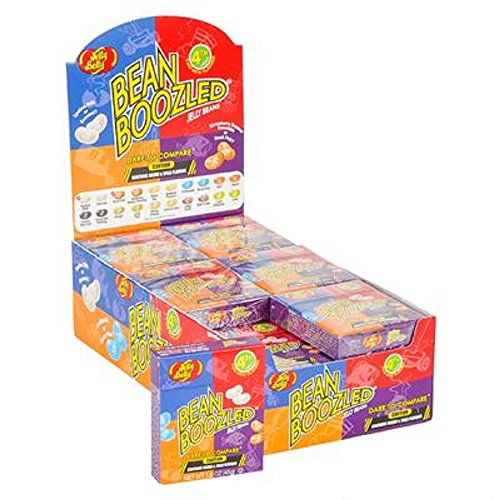 1.6oz JELLY BELLY BEANBOOZLED JELLY BEANS. 24 1.6oz (Jelly Belly Halloween Costume)