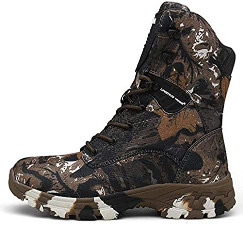YMXYMM Bottes Tactiques Hommes imperméables,Desert Boots