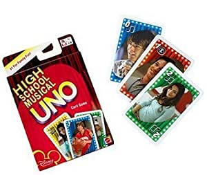 High School Musical Uno Card Game