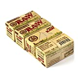 RAW Natural UNREFINED Hemp ORGANIC Rolling paper ROLLS - 4 x 5m papers