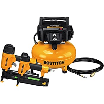 BOSTITCH Air Compressor Combo
