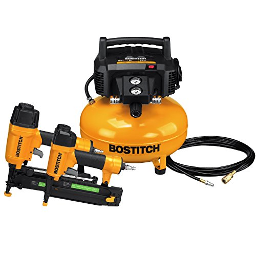 BOSTITCH Air Compressor Combo Kit, 2-Tool (BTFP2KIT)