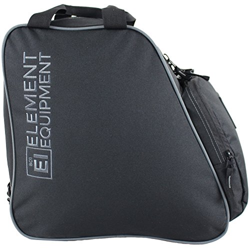 Element Equipment Boot Bag Snowboard Ski Boot Bag Pack Black Grey