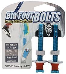 Big Foot Toilet Bolts - No Spin Toilet F...
