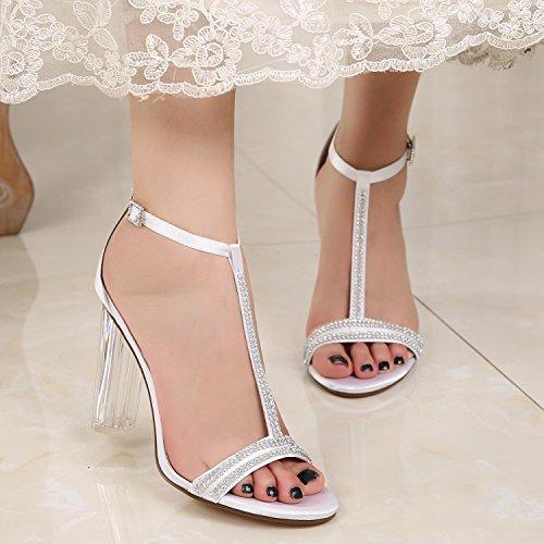 Femmes L F Court purple YC De Haut 11 MariéE De Chaussures Classique 2615 Taille Dames Mariage De Parti Talon Pompes Prom 5IIBqr