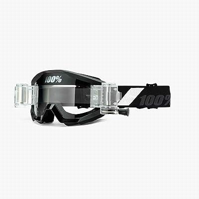 100% Strata SVS MX Offroad Goggles Goliath Black