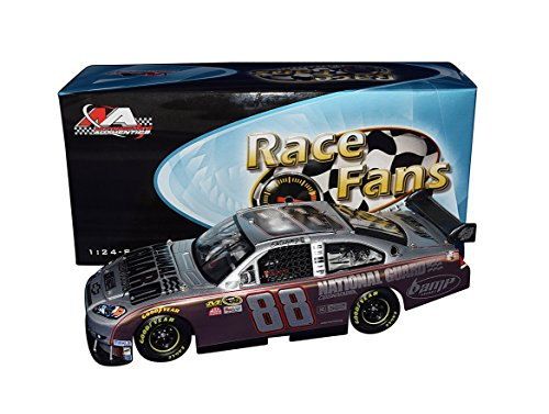 (AUTOGRAPHED 2008 Dale Earnhardt Jr. #88 National Guard/3 Doors Down CITIZEN SOLDIER (Race Fans Only Copper) Signed Action 1/24 Scale NASCAR Diecast Car with COA (#409 of only 588 produced!))