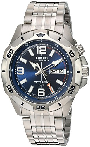 Casio MTD1082D 2AV Illuminator Analog Stainless
