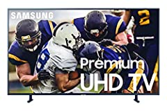 See all your favorite entertainment as it was meant to be seen with the Samsung UN49RU8000FXZA Flat 49-Inch 4K UHD 8 Series Ultra HD Smart TV. Featuring a powerful 4K UHD processor, this UHD Smart TV offers 4x the resolution (3,840 x 2,160) o...