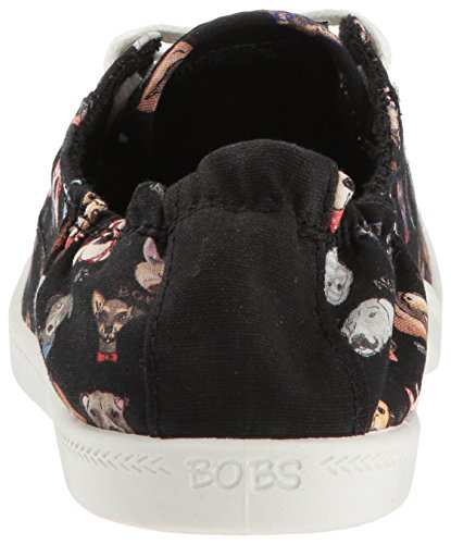 Skechers BOBS Women's Beach Bingo - Dapper Party Sneaker, Black