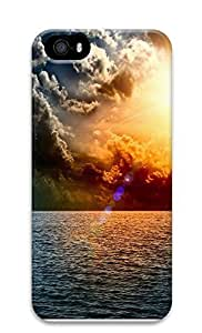 iPhone 5 5S Case landscapes nature sea clouds 59 3D Custom iPhone 5 5S Case Cover