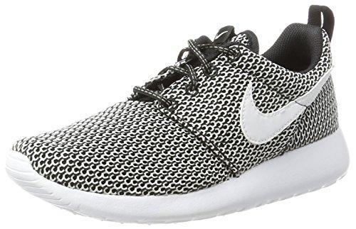 Nike Barn Roshe En Se (gs) Löparskor Svart / Vit