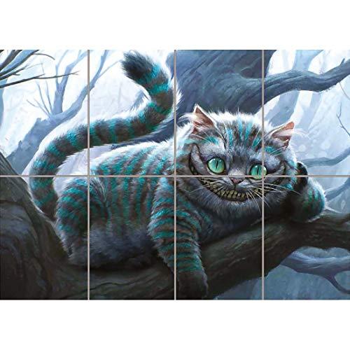 CHESHIRE CAT ALICE IN WONDERLAND GIANT POSTER X3279