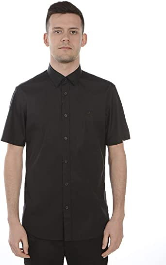 BURBERRY 8025764 8025764 - Camisa para Hombre, Color Negro Negro XS: Amazon.es: Ropa y accesorios