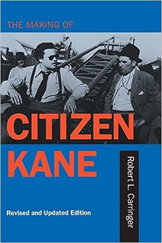 Amazon the making of citizen kane revised edition amazon the making of citizen kane revised edition 9780520205673 robert l carringer books fandeluxe Gallery