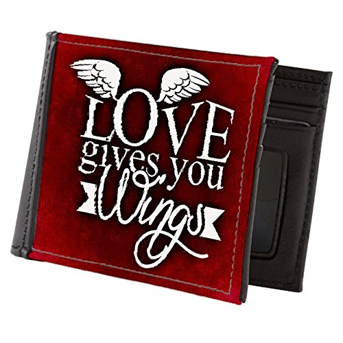 Teague Men's Truly Teague Truly Billfold Wings You Love Gives Wallet wwrfxq
