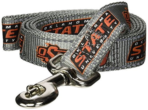 Lead Cowboy (Pet Goods Manufacturing NCAA Oklahoma State Cowboys Dog Lead, Large)