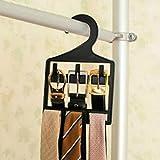 UXTIS Woo Wood Belt Hook Tie Racks