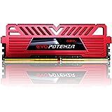 GeIL 8GB (2 x 4GB) EVO POTENZA DDR4 PC4-19200 2400MHz 288-Pin Intel Z170 Intel X99 Desktop Memory Model GPR48GB2400C15DC