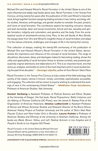 Racial Formation In The Twenty First Century Pulido Laura Hosang Daniel Martinez Labennett Oneka