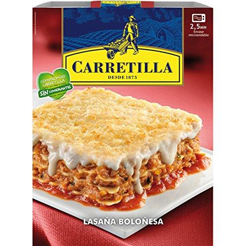 Lasaña Boloñesa Carretilla 375G: Amazon.es: Alimentación y ...