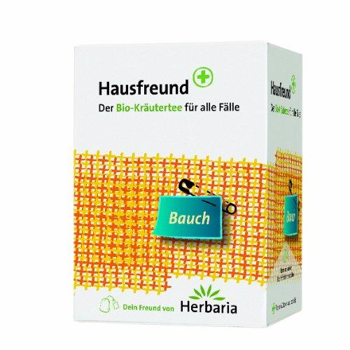 Herbaria Hausfreund Bauch, 2er Pack (2 x 24 g) - Bio