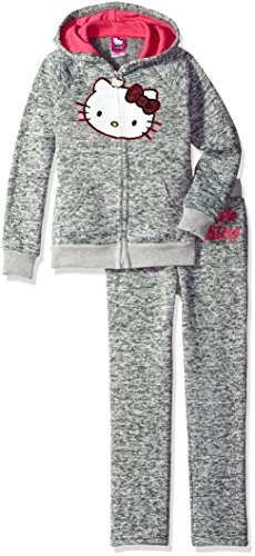 hello-kitty-baby-girls-fleece-active-set-with-sequin-applique-gray-12m