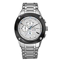 """Marc Ecko - Reloj casual de acero inoxidable de cuarzo """"Hi-Tek"""" para hombres (modelo: E20030G2)"""
