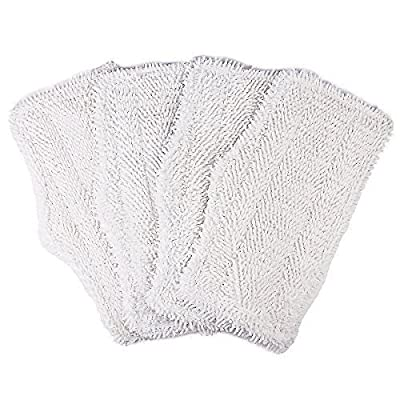 4 Pack Washable Cleaning Pads for Shark Steam & Spray Mop SK410, SK460, SK115, SK140, SK141, SK435CO, S3101, S3102, S3250, S3251