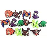 14pcs Time Before Land Dinos / Dinosaurs Shoe Charms for Croc & Wristband Bracelet