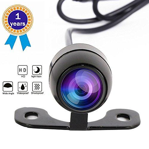Rv Cam (Car Rear View Camera, Auto Backup Cameras, Automobile Reversing Camera, RV Parking Cam Dash Cam Waterproof 720P Full HD 170 Degree Wide Angle camera(Camera-D))