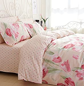 Delicieux Bedding Sets The Nordic Korean American Idyllic Small Wind Fresh Floral  Bedding And Pure Cotton Bed Linen Bedding ,j,twin 3404 Kit