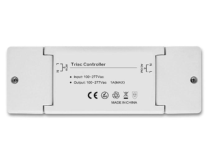 230 V controlador controlador regulador dimmaktor zigbee, compatible con Philips Hue® y OSRAM LIGHTIFY