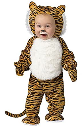 Amazon.com: Fun World Costumes Baby's Cuddly Tiger Toddler