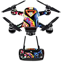 Skin for DJI Spark Mini Drone Combo - Loud Graffiti| MightySkins Protective, Durable, and Unique Vinyl Decal wrap cover | Easy To Apply, Remove, and Change Styles | Made in the USA