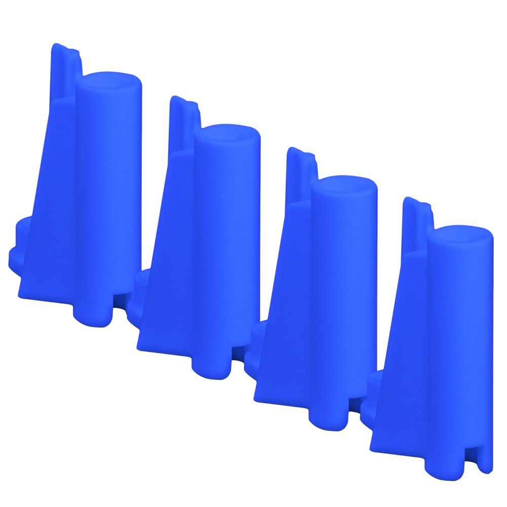Set of 4 Blue Mid Piece Ring Corner Posts for Figures Toy Company Wrestling Action Figure Ring   B016LCLTQO, SDSダイレクトショップ 027237d4