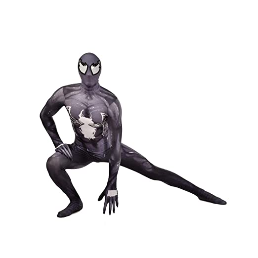 BLOIBFS Venom Disfraz Infantil De Spiderman,Adulto Superhéroe ...