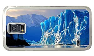 Hipster personalized Samsung Galaxy S5 Cases glacier PC Transparent for Samsung S5