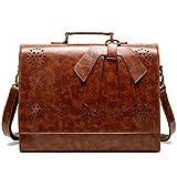 Women Briefcase for 15 Inch Laptop Ladies PU